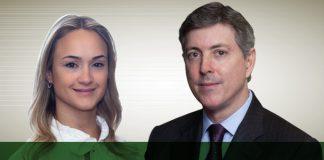 Denise Tavares e Richard Blanchet