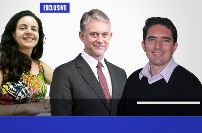Silvia, Ricardo e Luciano