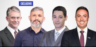 Ricardo, Rogério, Marco Aurélio e Venâncio