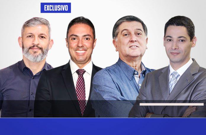 Ricardo, Venâncio, Topázio e Marco