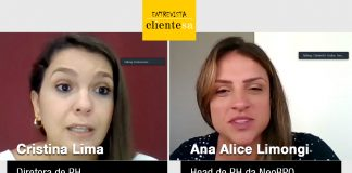 Cristina Lima e Ana Alice Limongi