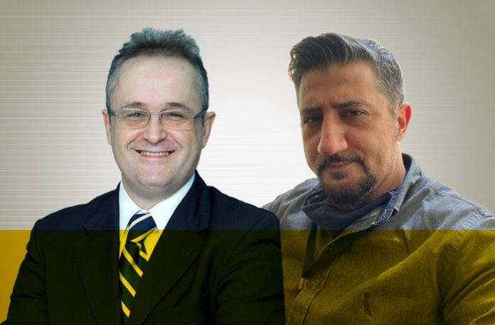 Daniel Lopez e Fábio Bisacchi