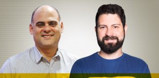 Eric Garmes e Millor Machado