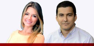 Bruna Veríssimo e Raphael Cunha
