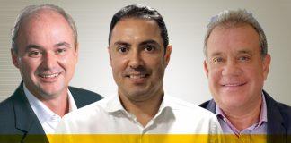 José Antonio Fechio, Venâncio Freitas e Ricardo Nibon