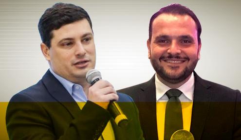 Renato Suplicy e Júlio Giraldi