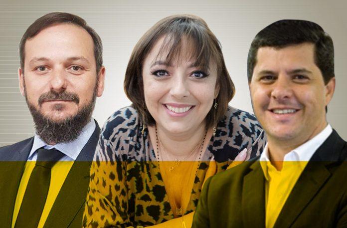 Jackson Dalfovo, Marcia Pollard e Ricardo Oliveira