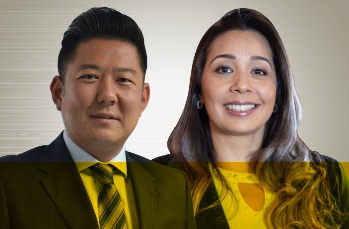 Mauricio Kikuchi e Vanessa Tiba