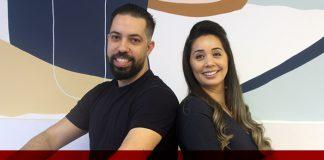 Thiago Thamiel e Vanessa Tiba