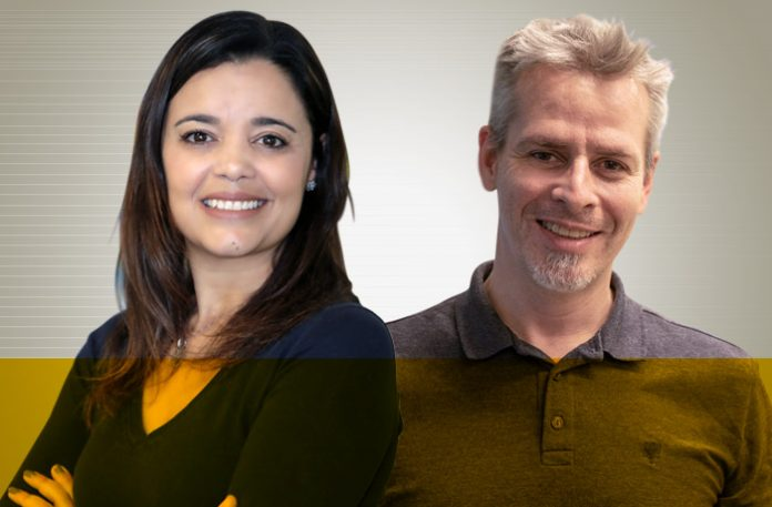 Mirella Marchi e Ricardo Araujo