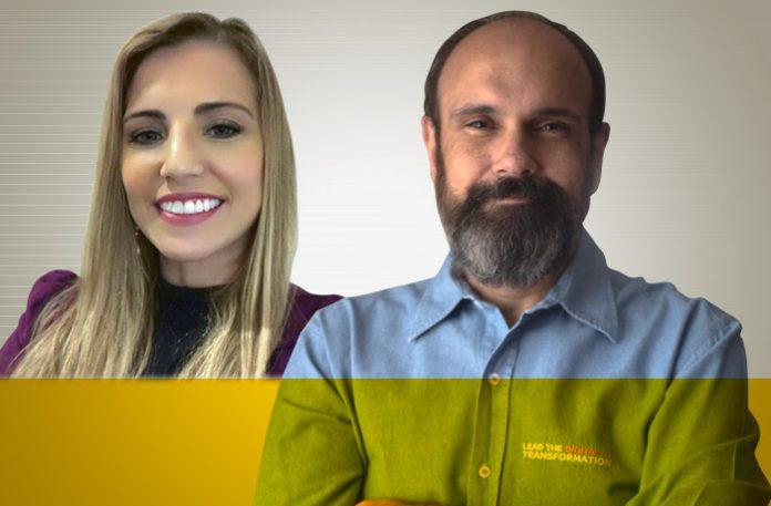 Ester Gomes e Luiz Antonio Urquiza