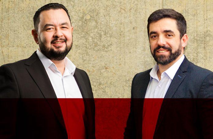 Luis Thinen e Roberto Toscani
