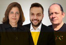 Roseli Garcia, Danilo Curti e Renato Pescara