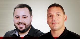Ricardo Ventura e Gabriel Diederichsen