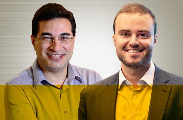 Rodrigo Tavares e Guilherme Kolberg