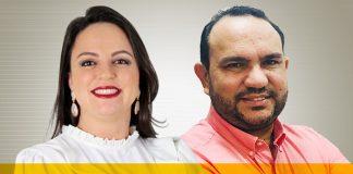 Helda Kelly Pereira e Eloilson Gonçalves