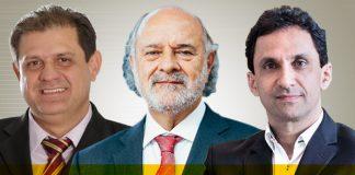 Silomar Nascimento, Paulo Sérgio João e Warney de Araujo Silva
