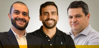 Fábio Bittencourt, Cristiano Mineiro e Fabrício Lira