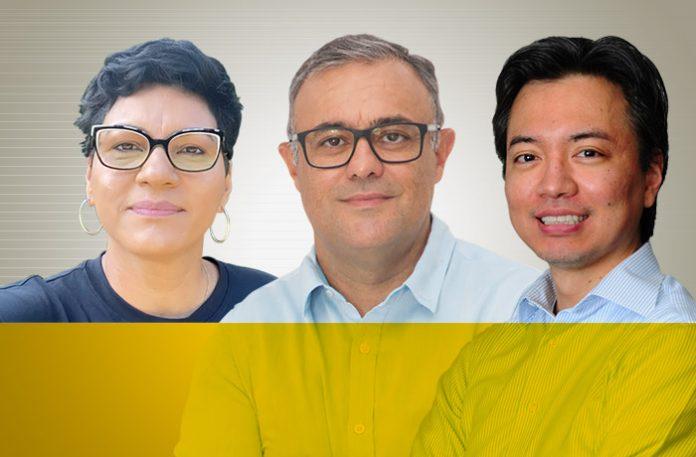 Adriana Gouveia, Paulo Henrique Campos e Dênis Nakazawa
