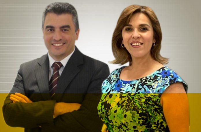 Luciano Passos e Wendy Quesada