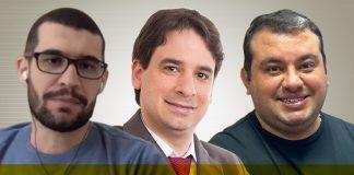 João Marcus, Lucas Fernandes e William Andrade