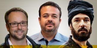 Renato Floh, Cristiano Barbieri e Anderson Criativo