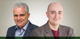 Paulo Marcelo e Fernando Diniz