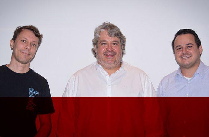 Adriel Faria, Rodrigo Mandaliti e Raphael Gonçalves