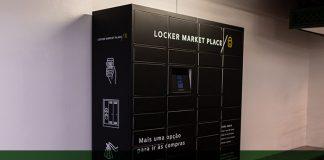 Serviço de lockers do Shopping Market Place
