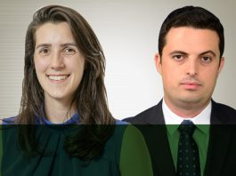 Thammy Marcatto e Aldo Macri, ambos da KPMG