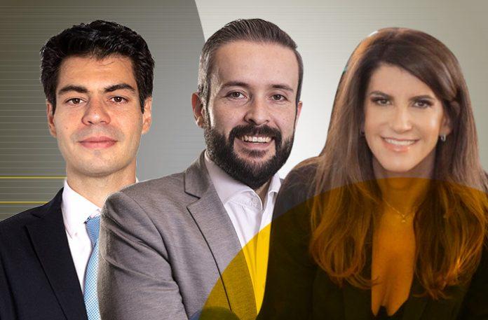 Leonardo Neri Candido Azevedo, Maurício Lambstain e Sandra Gebara