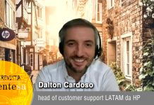 Dalton Cardoso, head of customer support LATAM da HP