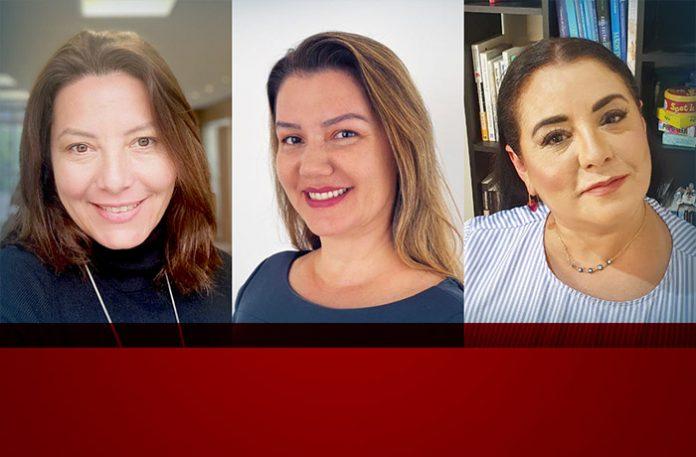 Daniela Meyer, Debora Basso e Mônica Santana