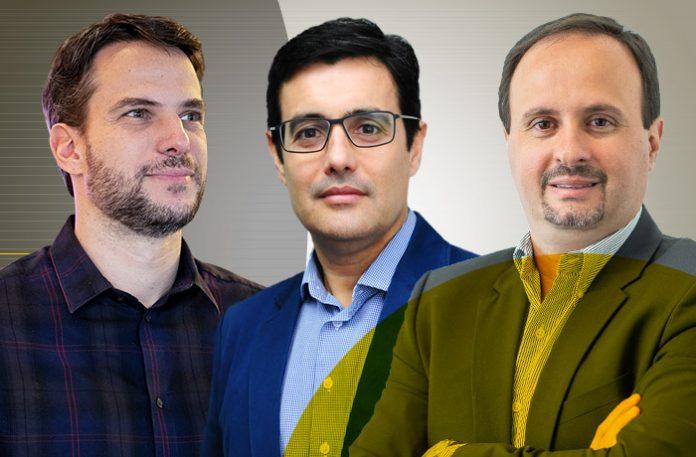 Ari Gorenstein, Luiz Souto e Fernando Gambôa