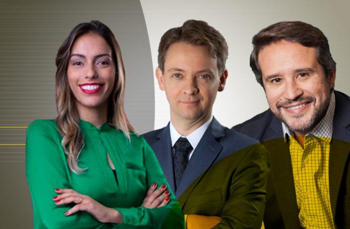 Joice Cristina Silva, Fernando Cosenza, e Silvio Veloso