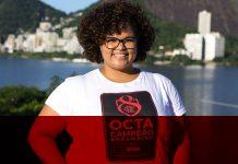 Tamara Vieira, responsável pela Central de Atendimento do Sócio Torcedor do Flamengo