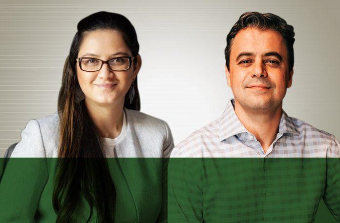Anna Martins e Daniel Costa