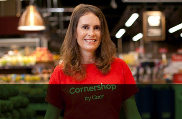 Cristina Alvarenga, head da Cornershop by Uber no Brasil