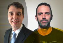Diego Lomeu, gerente de experiência do cliente domiciliar, e Alexandre Van Beeck, gerente de experiência do cliente empresarial