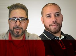 Luis Gustavo Marinho e Bruno Silva