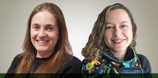 Andrea Zulians, da Herbalife Nutrition, e Luana Oliveira, da BBRO Comunicação
