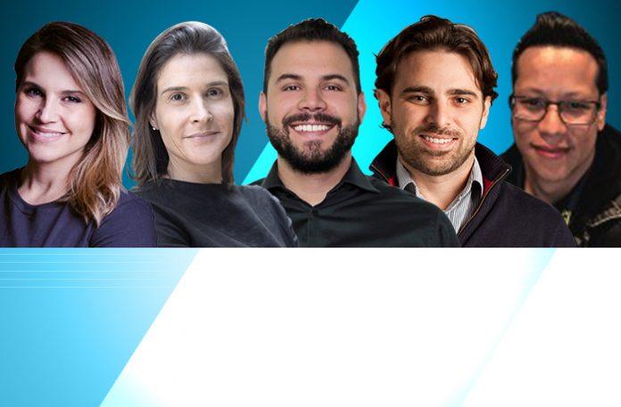 Jaqueline Machado, Maria Carolina Rodrigues, Tiago Batitucci, Victor Soffiatti, Anderson Teixeira