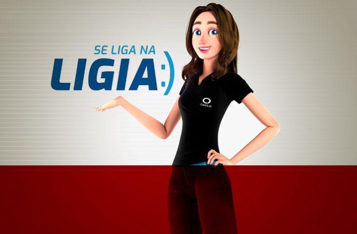 Ligia, nova atendente virtual da Concilig