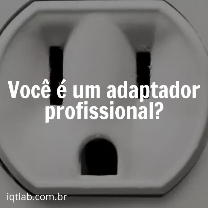 Você é um adaptador profissional?