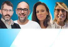 Marcos Calliari, Marcio Waldman, Mariana Grottera e Eliza Santos