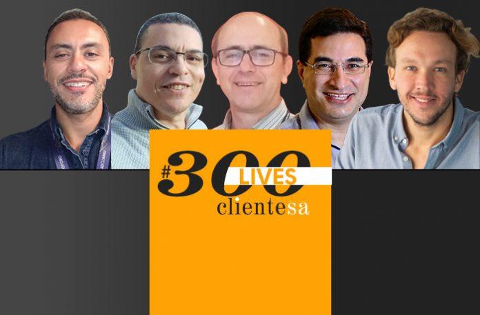 Alecsandro Cavalcante, Michel Rodrigues, Milton Biral Filho, Rodrigo Tavares e Tadeu Almeida