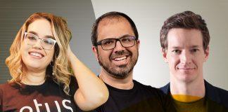 Marília Dovigues, Rodrigo Kuyumjian e Ricardo Romano
