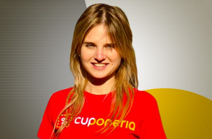 Nara Iachan, co-fundadora e Chief Marketing Officer da Cuponeria