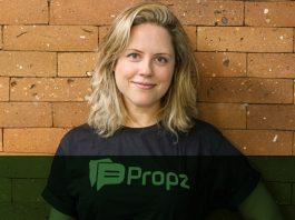 Juliana Milton, head de vendas e marketing da Propz