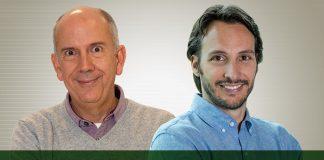 Marcílio Pousada, presidente da Raia Drogasil, e Bruno Pipponzi, VP de Negócios de Saúde